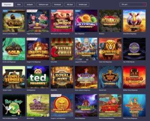 Populära spel hos Maria Casino